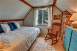 Third Floor Cloud Bedroom with full bed at The Barn