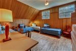 Bunk Bedroom with 4 twin beds at The Barn