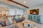 Living area at Sand Dollar