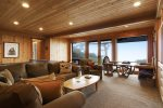 Ocean Views from the Media/Family room at Cove Beach Lodge