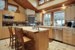 Large Kitchen at Cove Beach Lodge