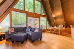 River Stone Gas Fireplace at Your Gatlinburg Cabin Destination