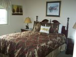Master Bedroom with Queen Bed at Gatlinburg Condo