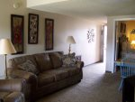 Living Room with Comfortable Seating in Your Gatlinburg Condo