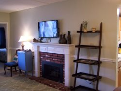 Gatlinburg Condo Living Room With HDTV and BluRay Player