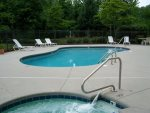 Pool Deck Seasonal at Gatlinburg Condo Complex