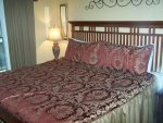 King Bed at Gatlinburg Condo