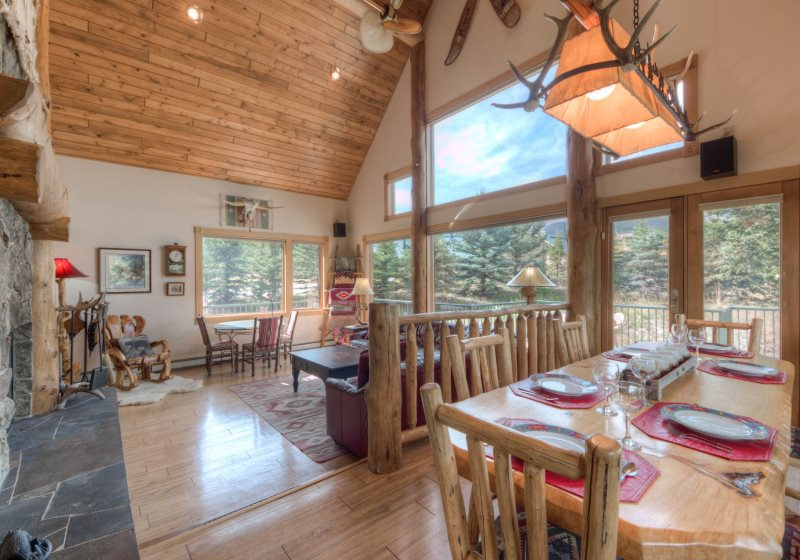 Big Sky Mountain Village Vacation Rental Living Room