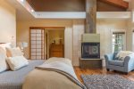 Master Suite- Gas burning fireplace