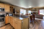 Kitchen/ open floor plan