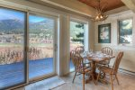 Large windows to take in the Big Sky scenery