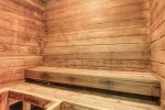 Sauna in pool/hot tub building- free access for guests