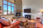 Main living space- Gas Fireplace