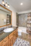 Upper guest bathroom