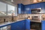 Beautifully updated kitchen- NEW stainless steel appliances