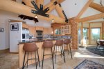 Dining Area: Seats for 8, amazing views of Andesite Mountain