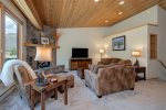Main living area, AMAZING views of the Spanish Peaks