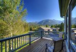 Private deck off main living space, Propane grill provided
