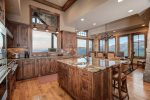 Chef`s kitchen, high end appliances, amazing views of the Spanish Peaks, access to outdoor deck