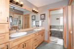 Master ensuite. Large soaking tub with standing shower.