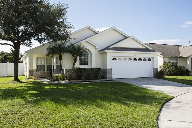 Kissimmee pool villa 4 bedrooms 3 bathrooms sleeps 8 for 9 bedroom vacation rentals