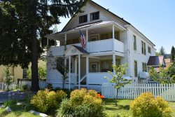 Walk to Festivals and Events Downtown from this Historic Home in downtown McCloud
