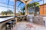 Villa San Jose - outdoor kitchen w. BBQ
