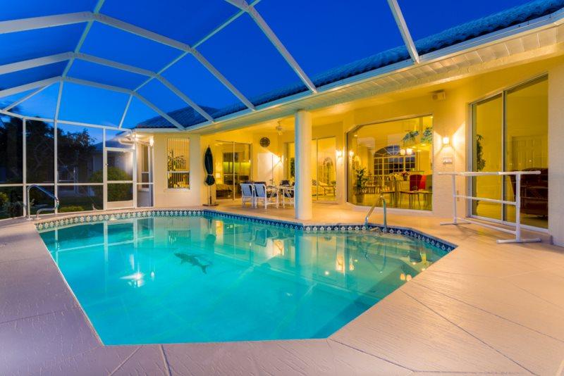 Excellent Villa Sunshine Cape Coral Florida Vacation Rental Home Interior And Landscaping Spoatsignezvosmurscom