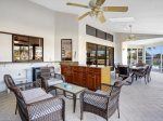 Vacanza Rentals - Villa Waterview Florida room lounge area