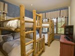 Bedroom 3 w/2 Sets Of Bunks Twin Over Full on both
