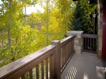 Deck W/View Of Chair Lift