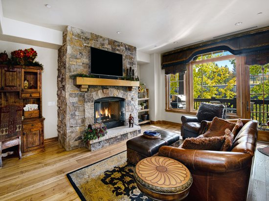 Beaver Creek Condo Rental Living Room