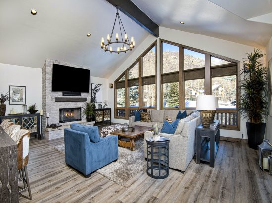 Vail Rental Living Room