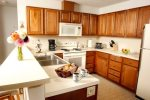 Large fully equipped Kitchen with Microwave and Dishwasher