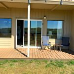 Private Deck - opens to grass, picnic tables, horseshoes