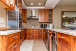 Custom Koa Kitchen - E105 at the Point at Mauna Lani