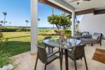 Outdoor Dining Area - E105 at the Point at Mauna Lani