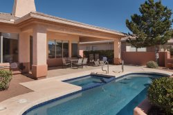 RENT REDUCED!! Beautiful home on the green in the Sedona Golf Resort with a private pool and hot tub!! - Heritage S074