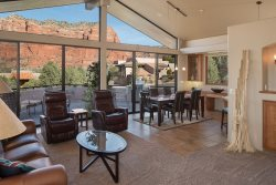 RENT REDUCED!! Gorgeous Home With Private Pool and Hot Tub with Spectacular Views of Bell Rock, Courthouse Mesa, Crown Mountain & Jack`s Canyon - Bellrock Beauty S057