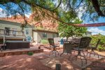 And from the front yard ... a beautiful pet-friendly Sedona vacation rental