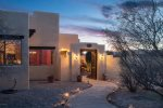 Spanish Hacienda is a gorgeous 2BD Santa Fe style Cornville home with a private hot tub