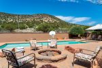 Los Coyotes is a 4BD Spanish style hacienda with a private pool in the Village of Oak Creek, Sedona