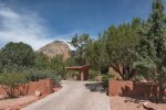 This tranquil vacation rental home is in a quiet neighborhood in West Sedona