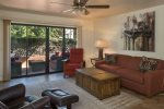 This cozy 1BD Oak Creek Boulevard condo is in the heart of West Sedona