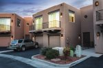 View of the exterior of Calle Del Sol Townhome, an affordable and pet-friendly Sedona vacation rental