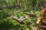 Easy and private access to Oak Creek and a Creekside firepit