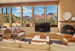 Palisades is a stunning and luxurious 2BD vacation home designed to capture the beauty of Sedona from every angle