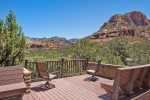 Caballo is surrounded by nature with panoramic Sedona views