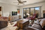 This bright sunny 1BD Oak Creek Boulevard condo is in the heart of West Sedona