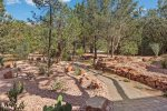 Soak up the sun and the Sedona views from your private patio with outdoor seating and a BBQ grill